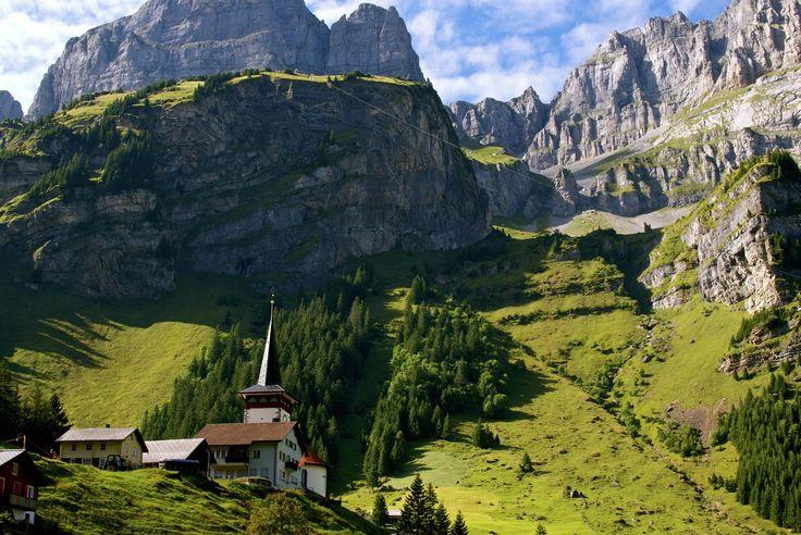 Urnerboden, Klausenpass, Svájc