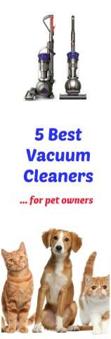 Need a great upright vacuum to clean up after your pets? Want the best vacuum for handling pet hair? Pet hair, dander, fur, skin and feathers are a constant source of dust, dirt and allergens and challenge to clean. To most effectively clean your home, you're going to need super strong suction to remove your pets' shedding.  Here are five of the best upright vacuum cleaners that I found that specialize in pet hair.