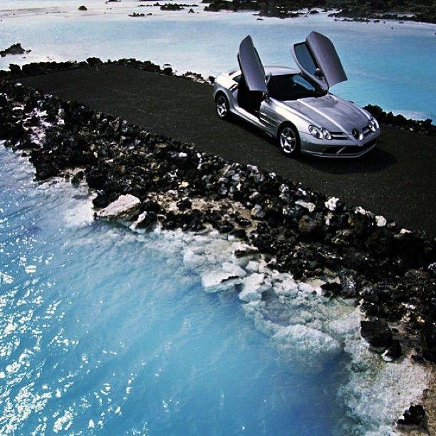 Dramatic! Mercedes Benz McLaren