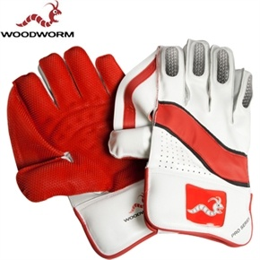 The Woodworm Cricket Pro Series Wicket Keeping Gloves are our most durable, softest and flexible yet – in short, we reckon these handsome hand-holders are the ultimate gloves on the market. £34.99