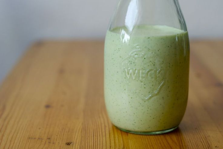Gwyneth Paltrow's Mexican Green Goddess Dressing - The Wednesday Chef