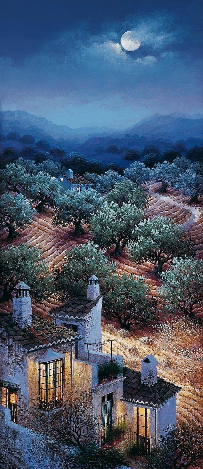 Luis Romero, 1948 ~ Spanish Spray Paint painter   Tutt'Art@   Pittura * Scultura * Poesia * Musica  