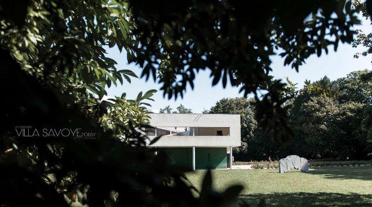 Villa Savoye / Photography by Jeffrey Faranial - 3D Architectural Visualization & Rendering Blog