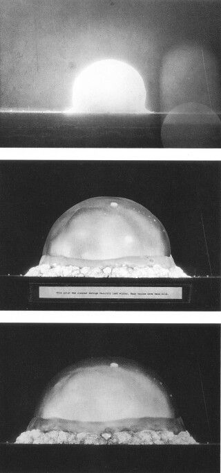 USA. Trinity test. 20 kilotons. July 16, 1945. Los Alamos, Nevada test site.
