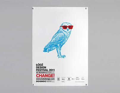 Lodz Design Festival 2011 Identity