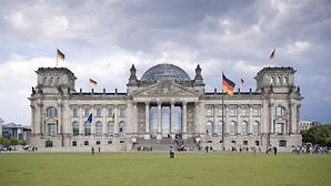 The Reichstag building is a visitor magnet of the Federal Capital of Berlin