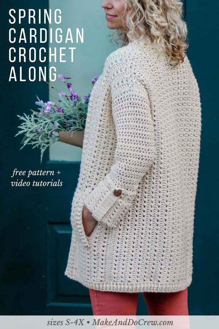 Apresentando o Alchemy Cardigan Crochet Ao longo de 2018!