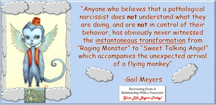 Narcissist Flying Monkeys | Recovering from Narcissistic ...