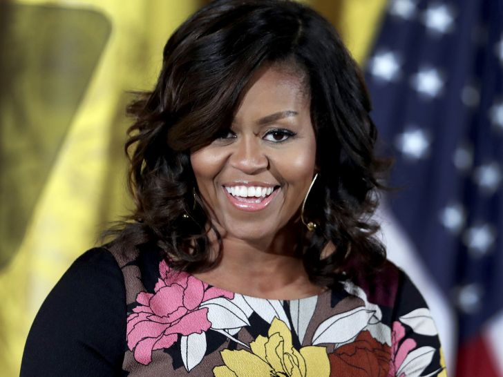 Michelle Obama Wore Her Natural Hair For The First Time