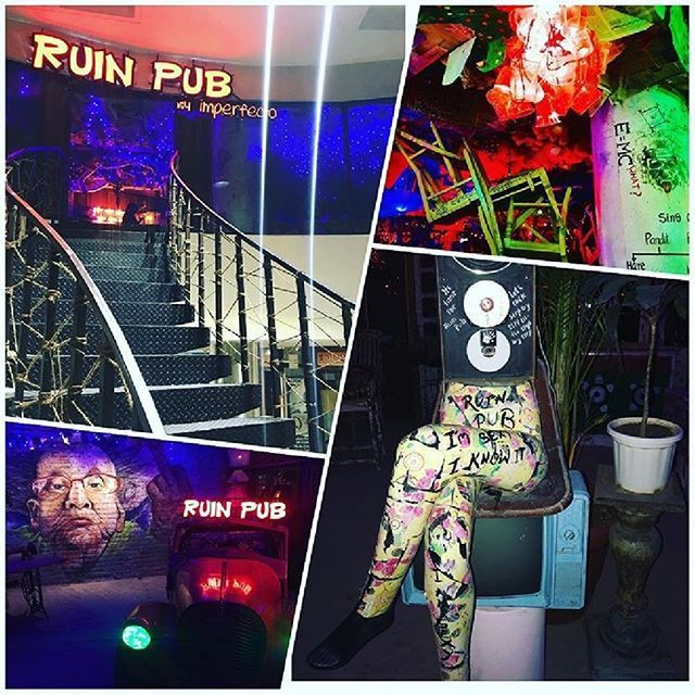 Ruin Pub by Imperfecto is going to change the way Delhi parties. The interiors are fashioned after the most happening clubs in Buenos Aires Madrid Budapest. Trendy and whacky its going to bring the buzz back to the party scene in the capital @ruinpubdelhi @walker_mar @ansalplaza #ruinpubbyimperfecto #imperfecto #club #pub #launch #newintown #delhi #ansalplaza #trendy #happening #fun #whacky #graffiti #decor #ultimate #highonwines @sharadmadan83 - Architecture and Home Decor - Bedroom…