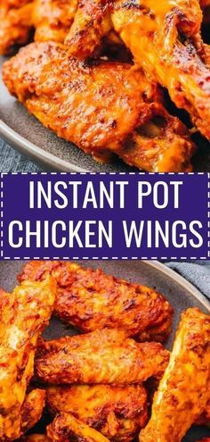 These easy Instant Pot Chicken Wings are hot, spicy, and buffalo flavored! If yo…