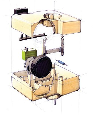 Design drawing - exploded view