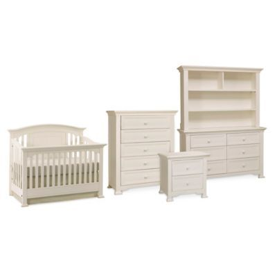 Munire Brunswick Nursery Furniture Collection in White - buybuyBaby.com