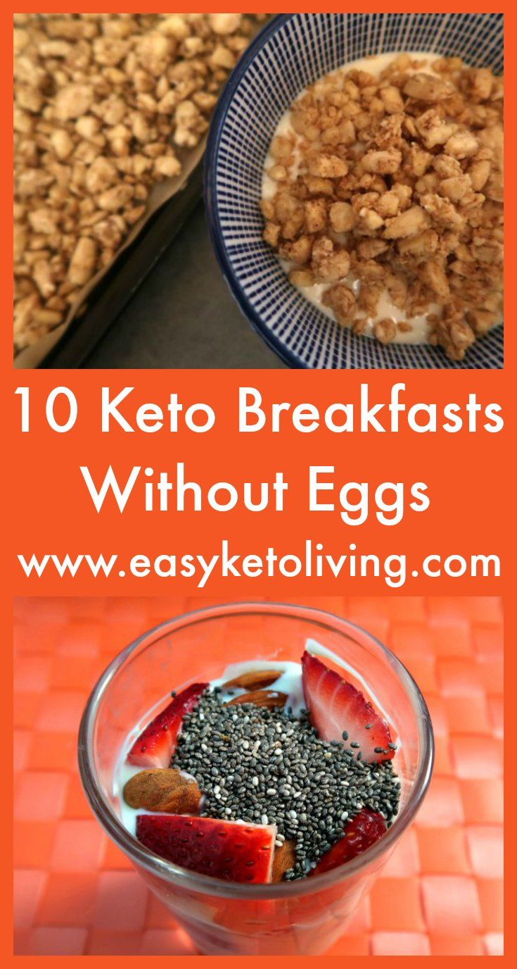 10 Keto Breakfast Without Eggs Ideas Easy Low Carb No Egg Breakfasts Keto Diet Breakfast Low Carb Breakfast Recipes Low Carb Breakfast