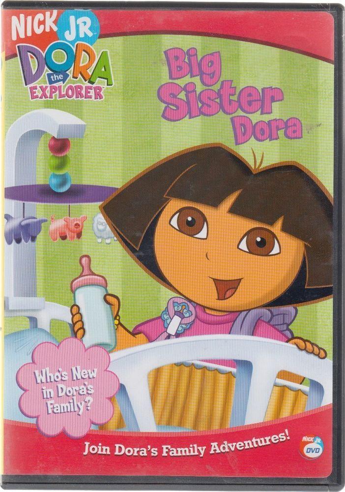 Dora the Explorer - Big Sister Dora (DVD, 2005)