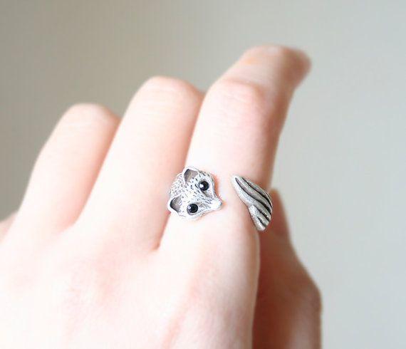 Ringe - Fuchs Ringe - ein Designerstück von zwergschmuck bei DaWanda