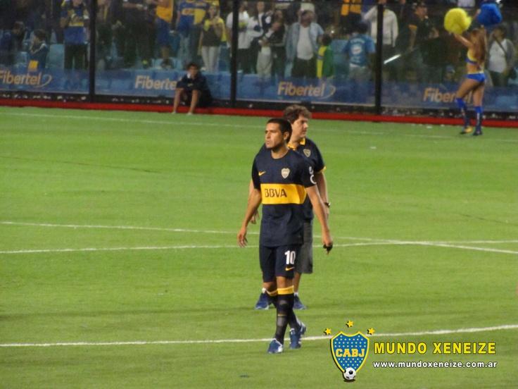 Boca vs Unión 3 marzo 2013 Román Riquelme