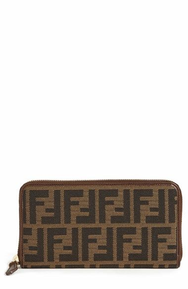 e83dbcc444ba ... sweden fendi zucca zip around wallet available at nordstrom e9596 f540f  sweden fendi zucca mini chef shoulder bag ...