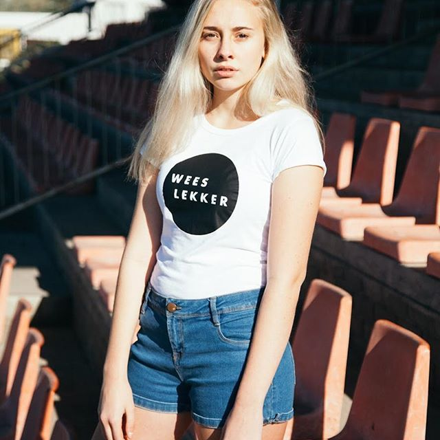 @dane.muller is wearing our Wees Lekker tee.  Get yours at www.slaapstadt.co.za