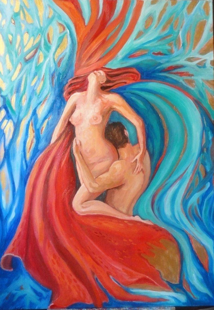 tecnica mista_50x70_la passione tinge dei propri colori tutto ciò che tocca_Baltasar Gracian Morales