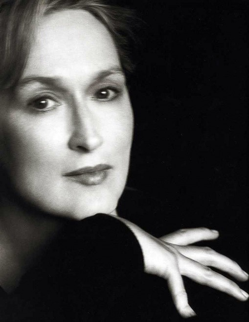 Herb Ritts Meryl Streep 1998 - No Words - you can't improve on perfection