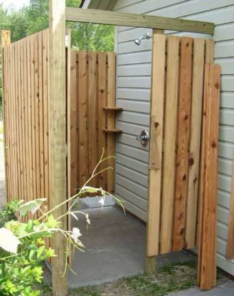 17 best images about outdoor shower on pinterest for Outdoor shower tower
