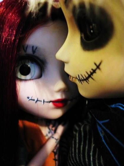 Jack and Sally Doll