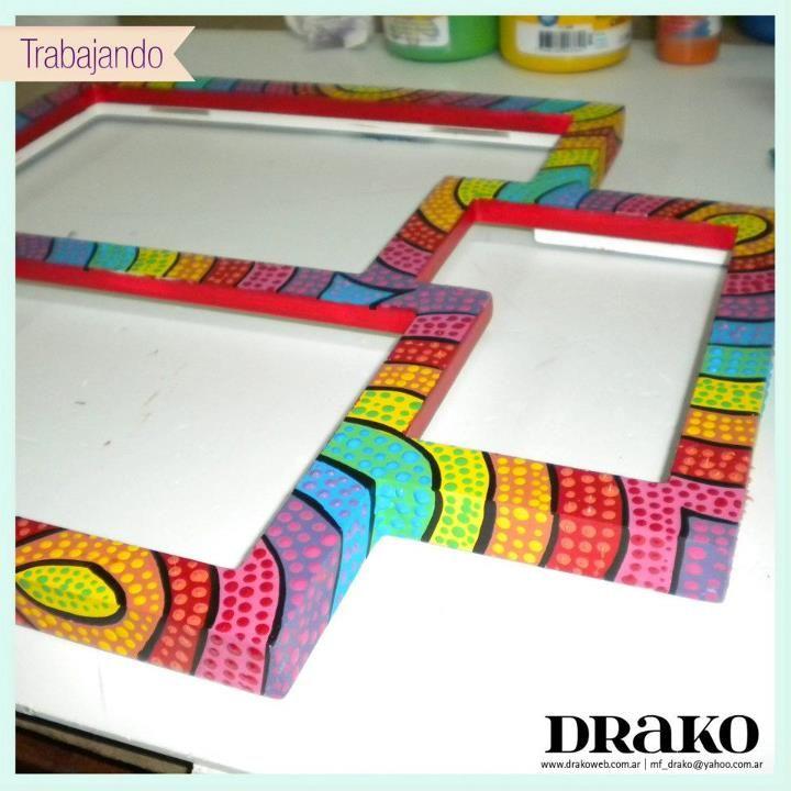 Portaretrato    https://www.facebook.com/drako.objetos.artesanales