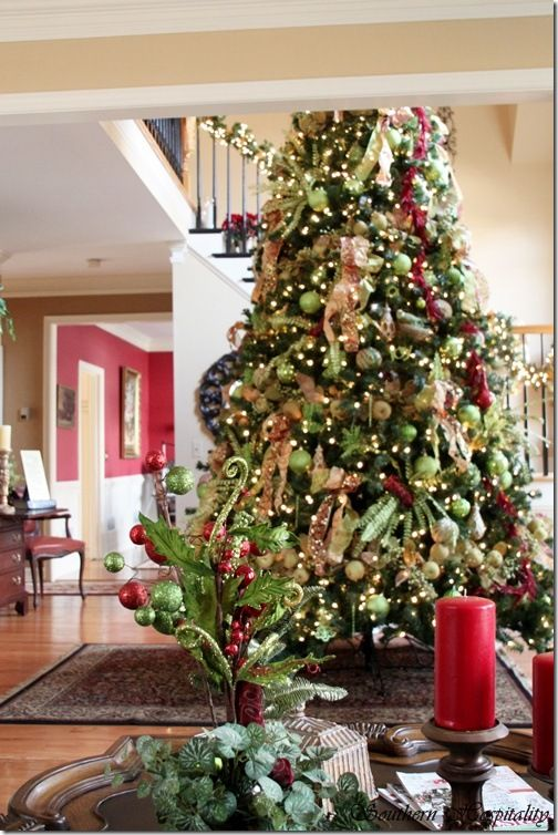 Decorated Homes 13 best beautiful christmas decorated homes images on pinterest