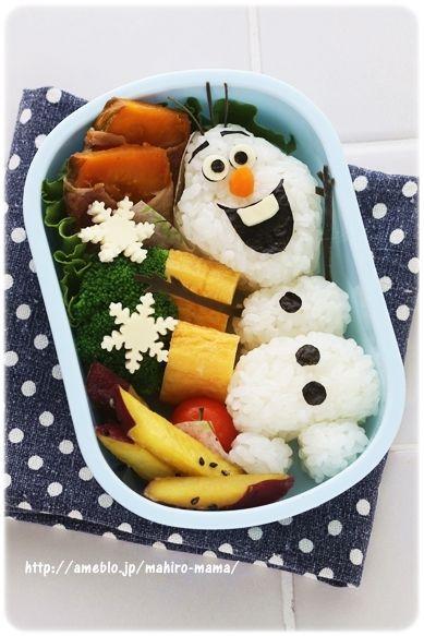 Disney kyaraben - Olaf from Frozen