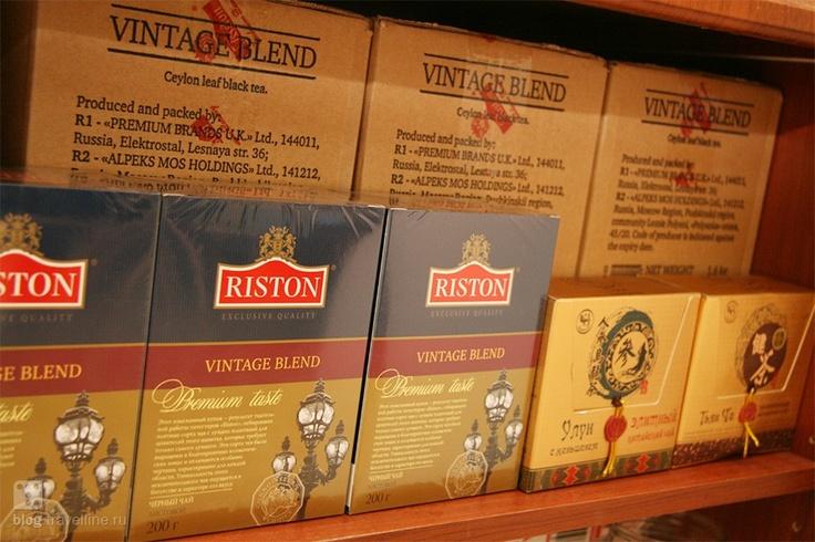 Сегодня в очередной раз закупили чай. Коллеги пьют его невероятными темпами!