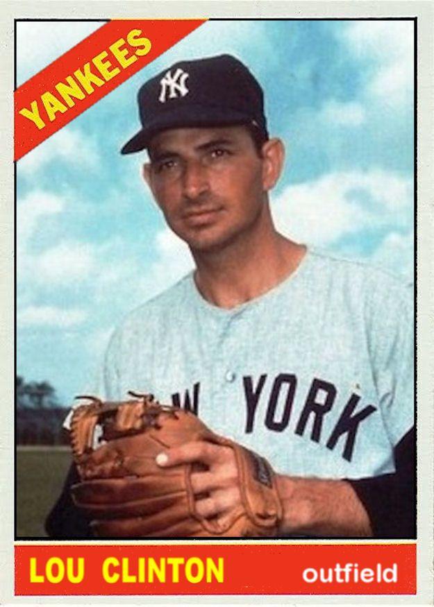1966 Topps Baseball 1966 Custom Cards Yankees Stuff