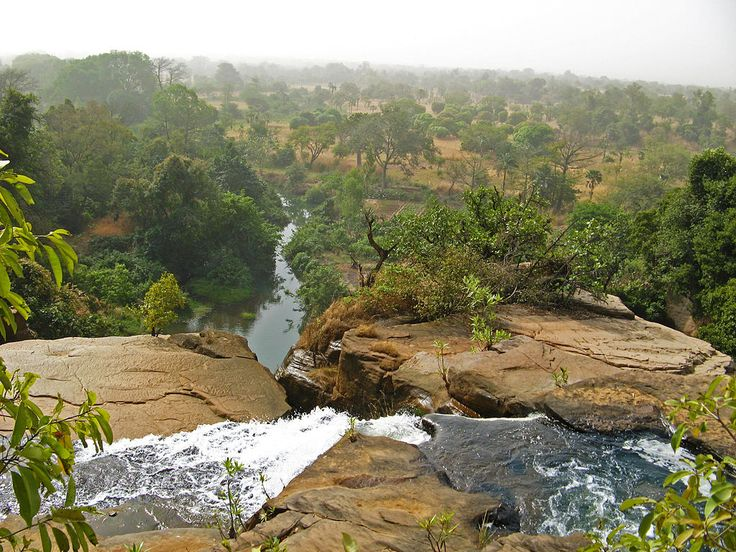 Cascades de Karfiguela au sud-ouest du pays // Waterfalls in Burkina Faso ◆Burkina Faso — Wikipédia https://fr.wikipedia.org/wiki/Burkina_Faso #Burkina_Faso