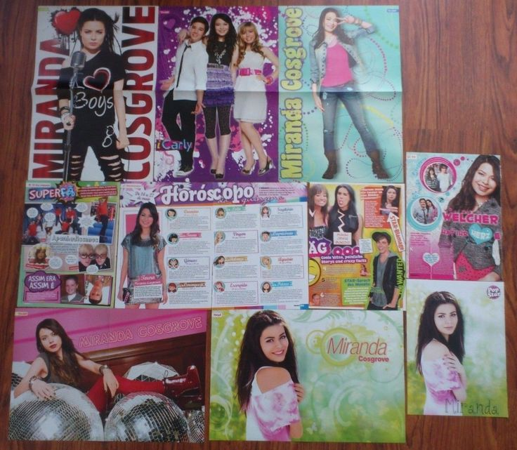 MIRANDA COSGROVE - iCarly, Posters Clippings Magazine | eBay