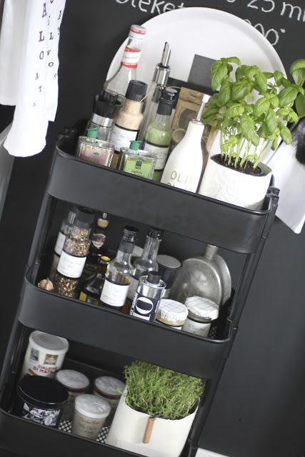 Bengtgarden: brilliant for herbs, oils and spices! Ikea <3                                                                                                                                                                                 More