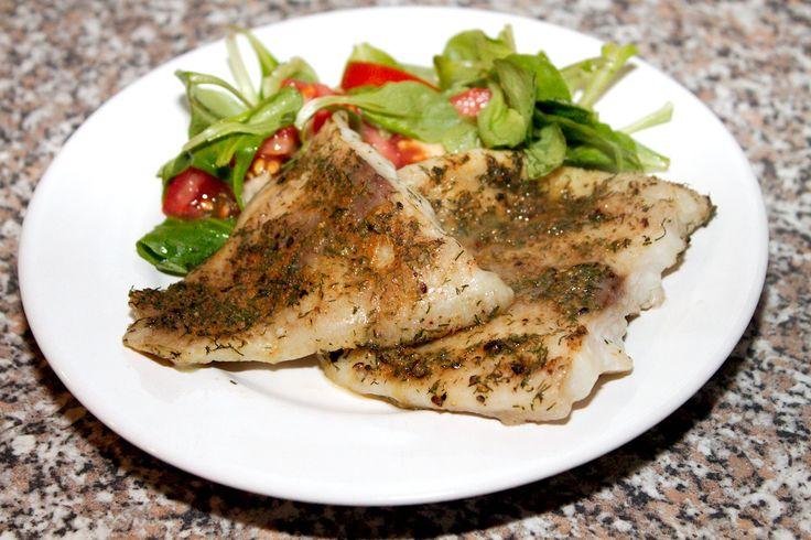 Fűszeres pangasius filé recept