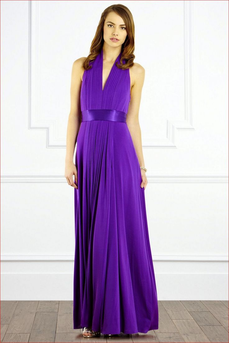 Purple Dresses For Wedding