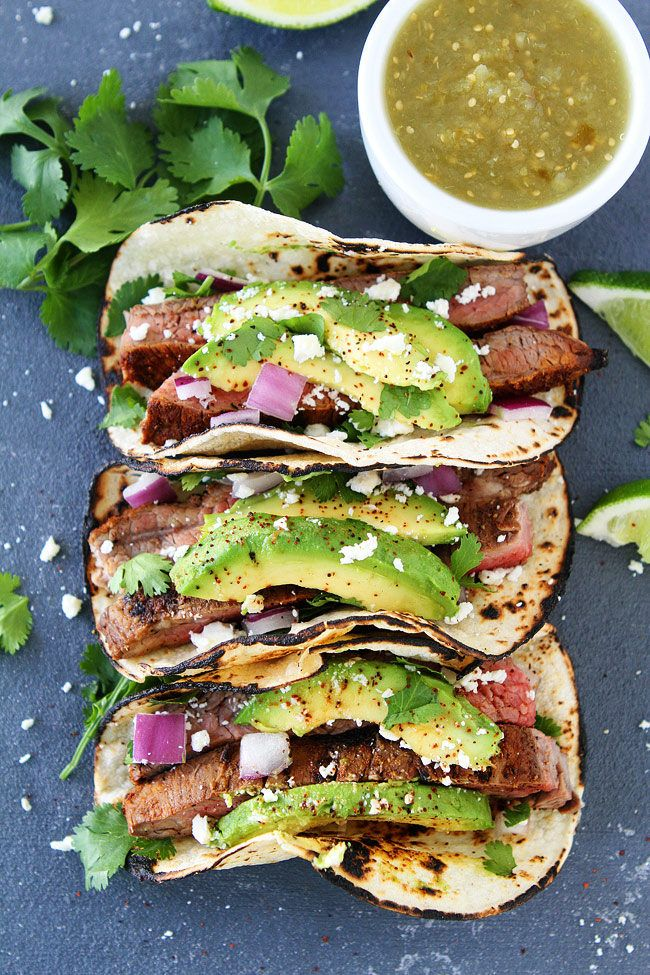 Grilled Steak Tacos make an easy and delicious summer meal