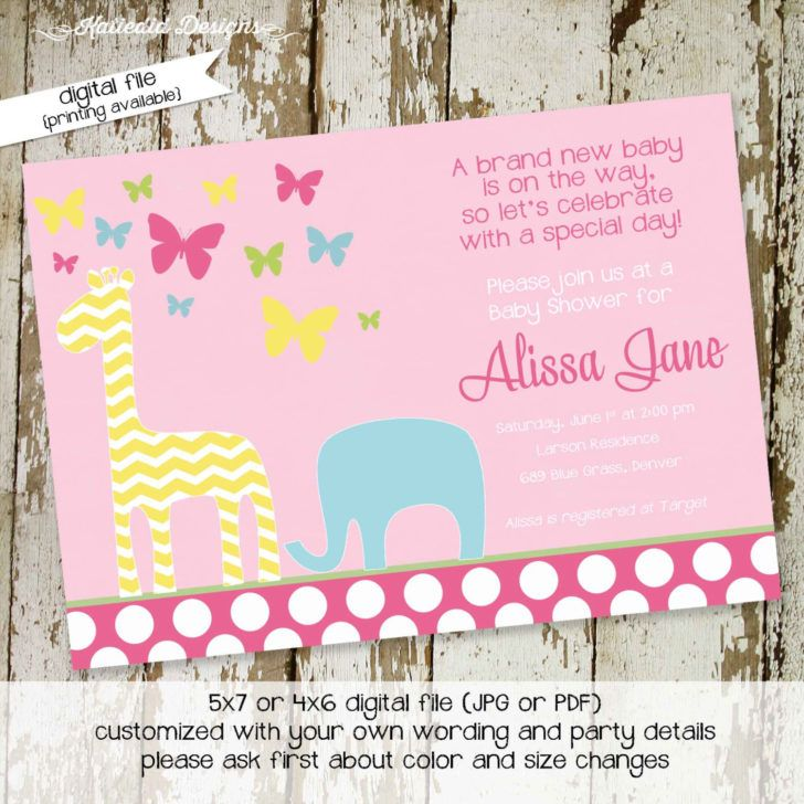 137 best Baby Shower Invitations images on Pinterest Baby shower - baby shower invitations for word templates