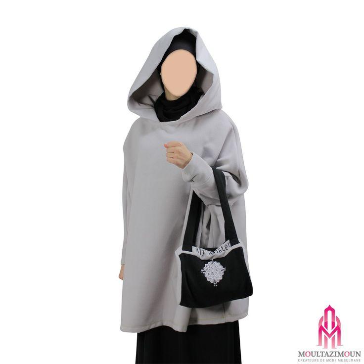 Cape Cachemire - Al Moultazimoun #Overhead #coat #khimar #jilbab #jilbab #best #abaya #modestfashion #modestwear #muslimwear #jilbabi #outfit #hijabi #hijabista #long #dress #mode #musulmane #clothing