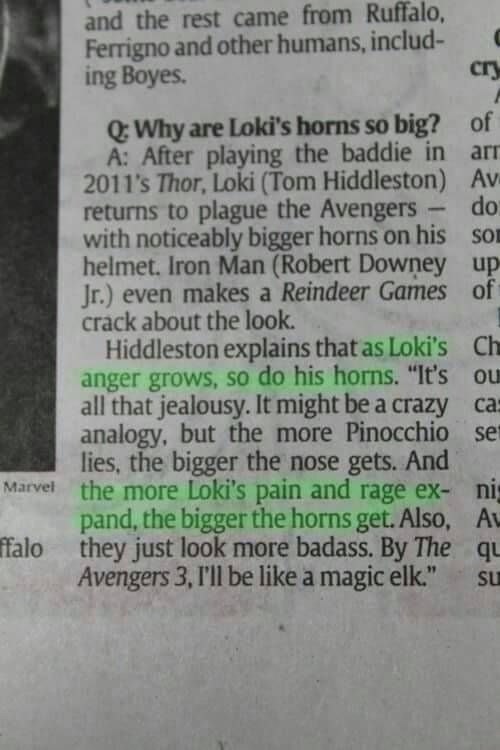 But in Thor Ragnarok they are considerably smaller.... .... Oh... My.... God...