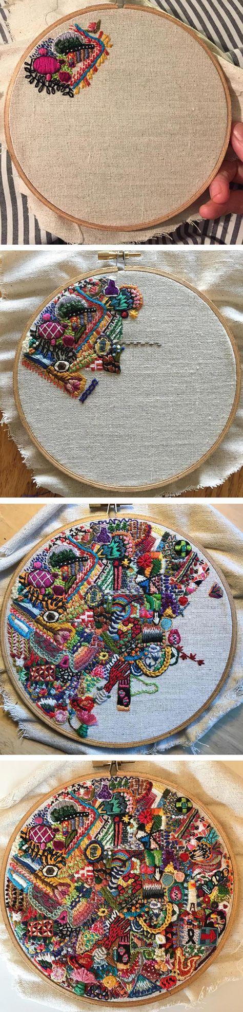 Cross Stitch rice stitch | ..
