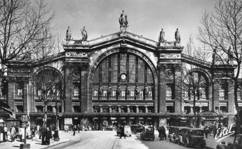 Gare du Nord en 1900