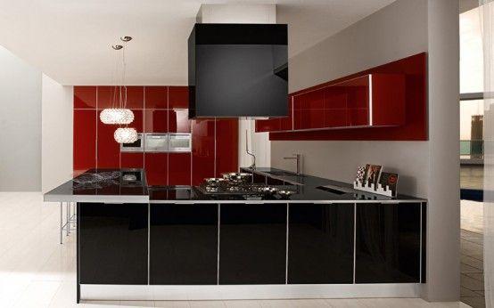 Ultra Modern Glossy Kitchen - Judy By Futura Cucine photo Alessandra Martina