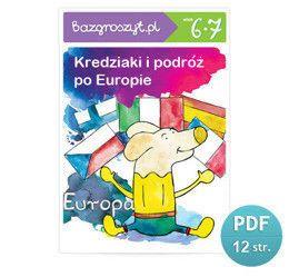 Bazgroszyt, Kredziaki i podróż po Europie