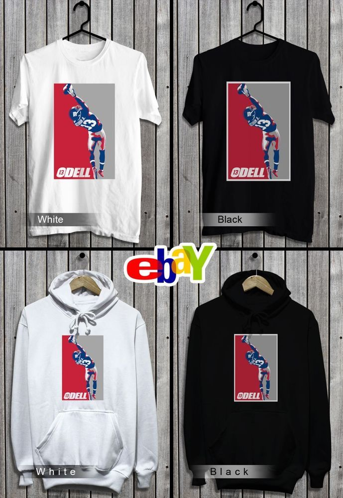 60a9c602a25a8 Odell Beckham Jr New York Giants T-Shirt-Sweatshirt-Hoodie Black ...