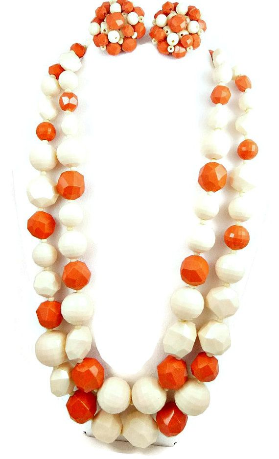192 best I Love Old Bead Necklaces and Earrings images on ...