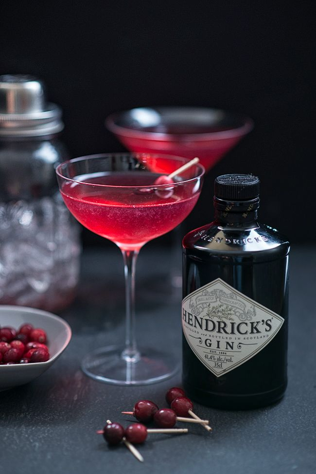 The Red Queen cocktail is perfect for the festive season