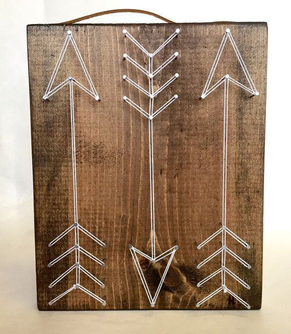 Snow White Arrow String Art by ThreadTherapy1 on Etsy