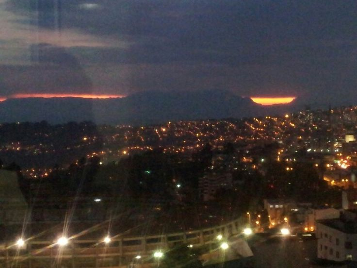 """""""Factory of sunsets"""" Pablo Neruda. Manizales, Colombia."""